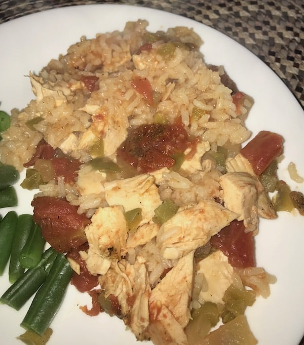 Chicken Creole with Rice