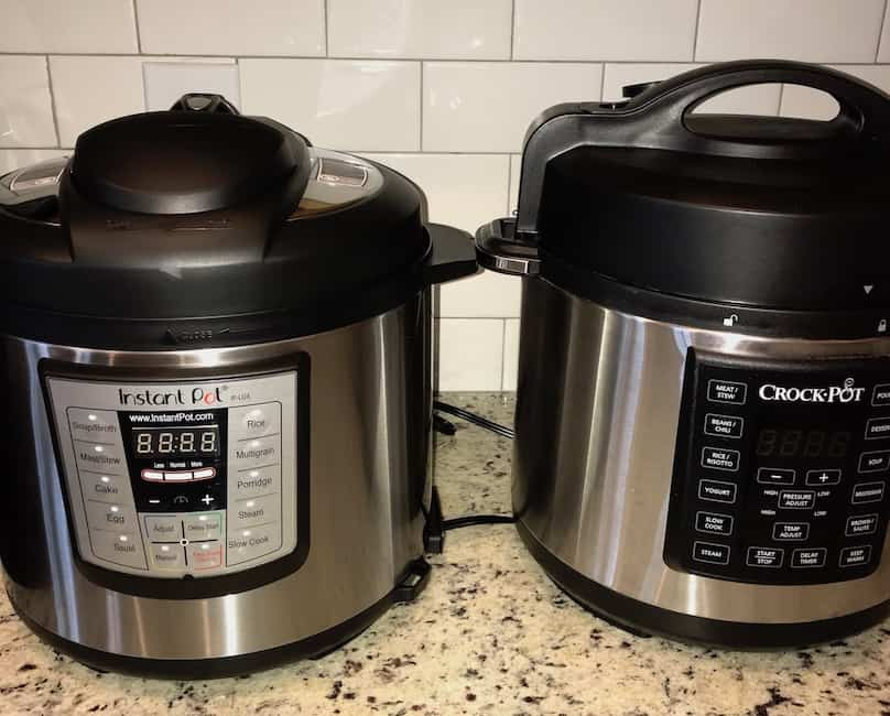 Instant Pot and Crock Pot multi-cooker