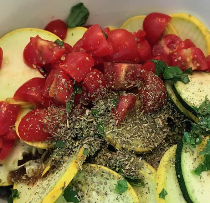 For an authentic Italian flavor, add Italian seasoning.
