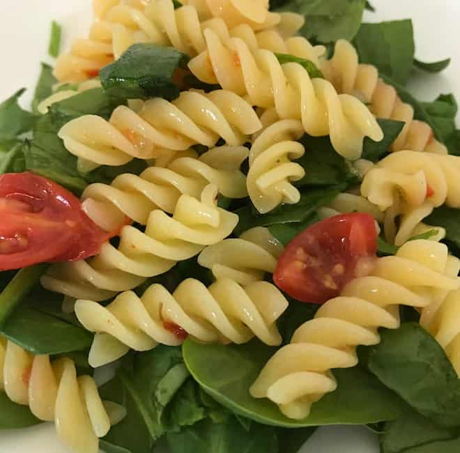 Zesty Rotini Pasta Salad