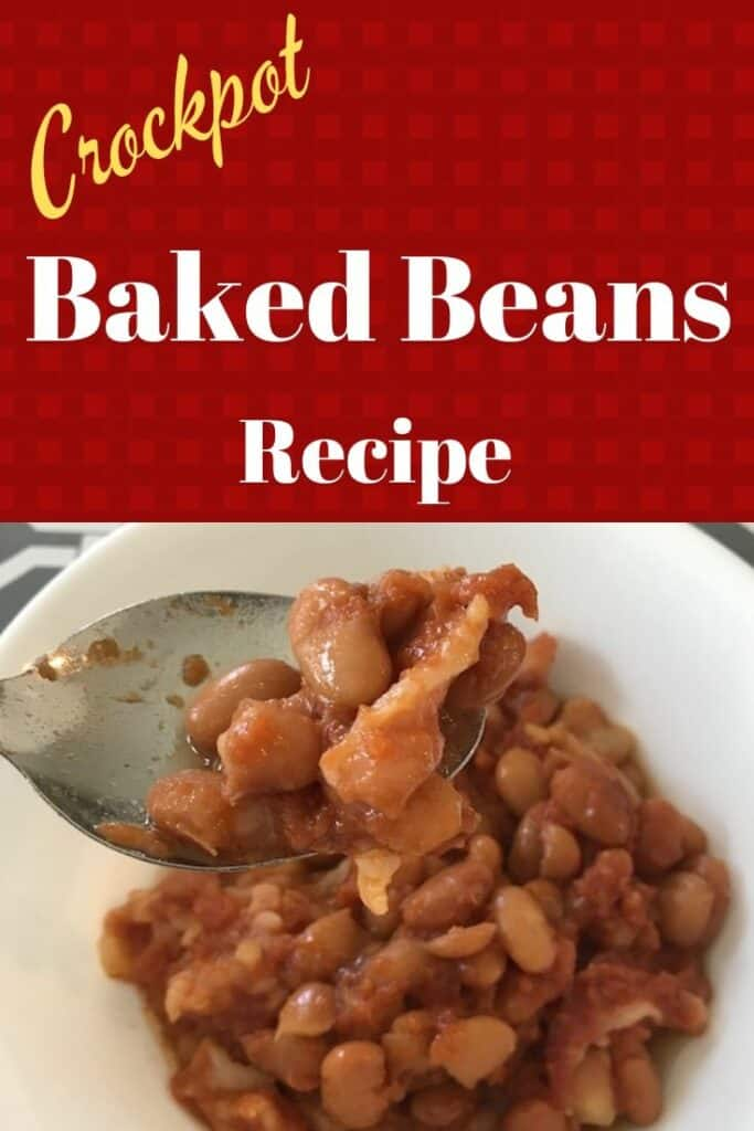 Crockpot baked beans recipe