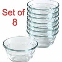 Pyrex Bakeware Custard Cups, 10-Ounce, Pack of 8